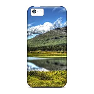Hard Plastic Iphone 5c Case Back Cover,hot Gorgeous Loch Tulla In Scotl Hdr Case At Perfect Diy