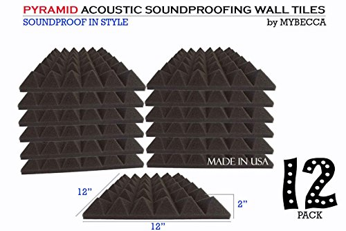 Mybecca Premium Pyramid Acoustic Soundproofing product image