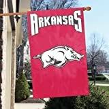 Arkansas Razorbacks NCAA Applique Banner Flag ''