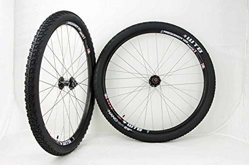 WTB Frequency i25 Race 29in Mountain Bike Wheels Disc Rim Brake Black Wheel Set With Nano Tires and Tubes! by WTB