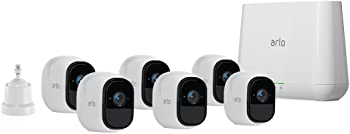 Arlo Pro by Netgear VMS4630 Security System with 6 HD Cameras