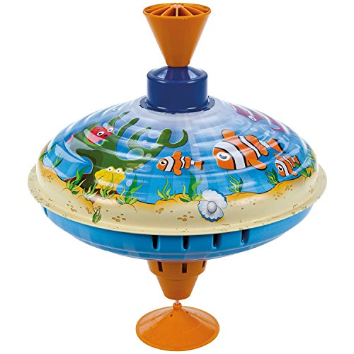 Ocean Clownfish Humming Top 16cm by Bolz-Toys