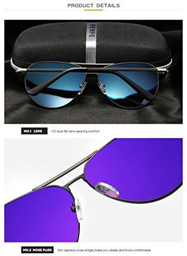 Protección Aviator para Sol Hombre Polarizadas 400 UV C3 Gafas para Mujer De C4 fqw8Ot