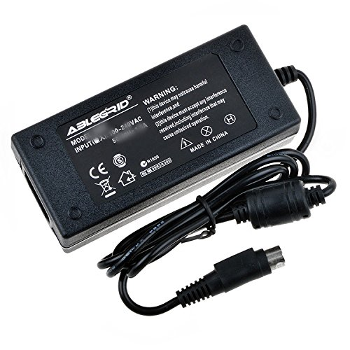 (ABLEGRID AC/DC Adapter for Partner Tech RP-600 RP-600S RP600S Thermal Transfer Printer: Black, High Per mance, 80mm Thermal Printer p/n: PT-RP600S Power Supply Cord)
