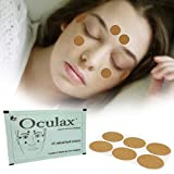 Oculax Acupoint Patch Natural Herbal Remedy for Dry Eyes, Eye Fatigue, Eye Strain. Improve sleep quality and relaxation (3 pc)