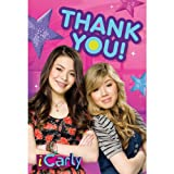 iCarly Thank You Notes w/ Envelopes (8ct)