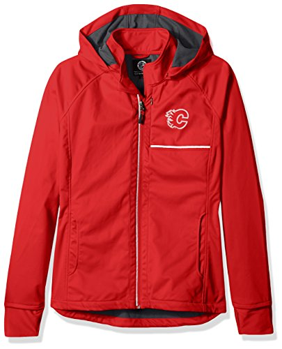 GIII For Her Adult Women Cut Back Soft Shell Jacket, Red, Medium