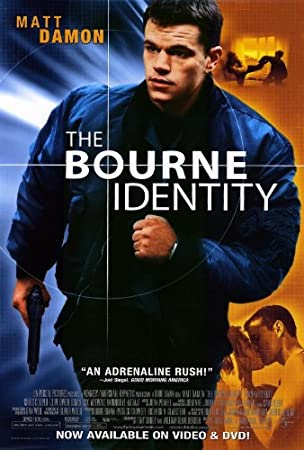 Image result for bourne identity movie poster
