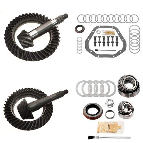 4.10 RING AND PINION GEARS & INSTALL KIT PACKAGE- DANA 60 REV FRONT / 10.5 REAR