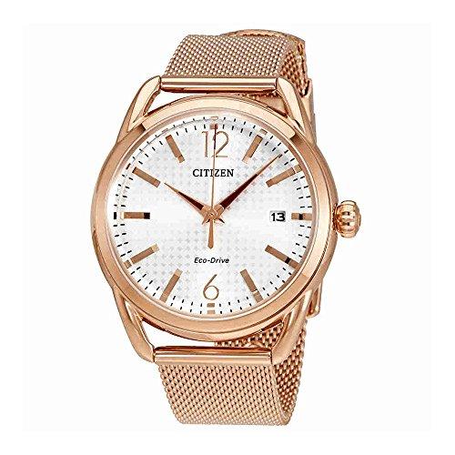 Citizen Gold Bracelets - Citizen Women's Eco-Drive Mesh Bracelet Watch