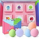 #8: Ayasoon Bath Bombs Gift Set, Organic and Natural Vegan Bath Bomb Kit for Dry Skin Moisturize, Best Gift Ideas for Her, Women, Girlfriend, Girls, Valentine, 6 x 2.8 oz