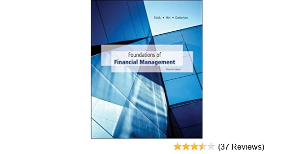 Foundations Of Financial Management With Time Value Of Money