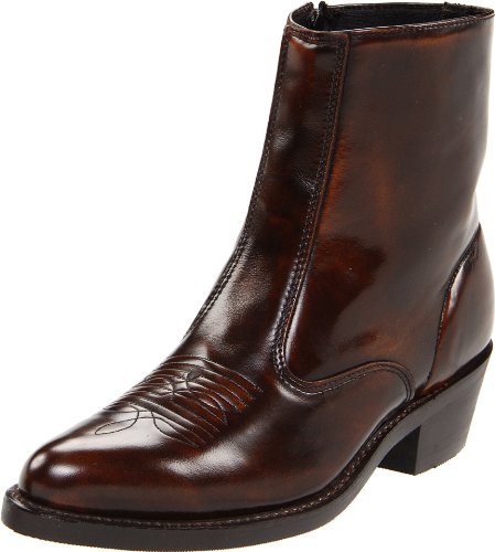 Laredo Men's Long Haul Boot,Antique Brown,9 D US (Beige Mens Cowboy Boot)