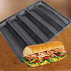 Subway Sandwich Mold Silicone Perforated...