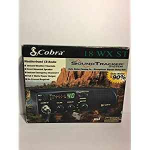 Cobra 18 Wx St with Sound Tracker System