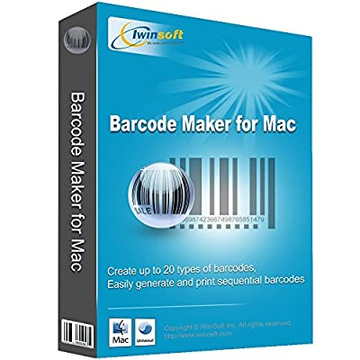 iWinSoft Barcode Maker for Mac [Download]