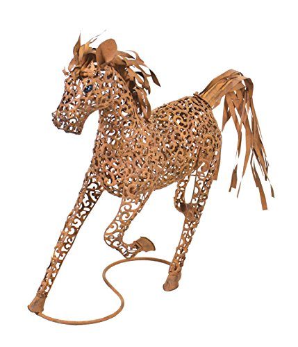 Hi-Line Gift Ltd Metal Horse Running