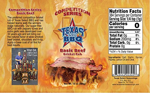 Select Beef - TSS-Basic Beef Brisket Rub