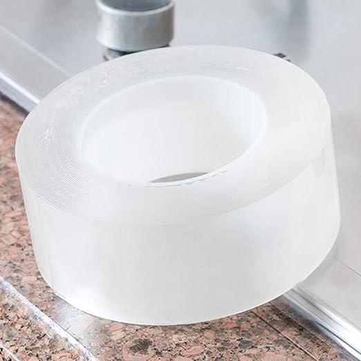 Amazon Com Tintvent Caulk Strip Washable Adhesive Caulk Tape Self