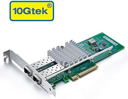 10 gtek Chip tarjeta de red gigabit ethernet/(NIC) for Intel Kit-2 ...
