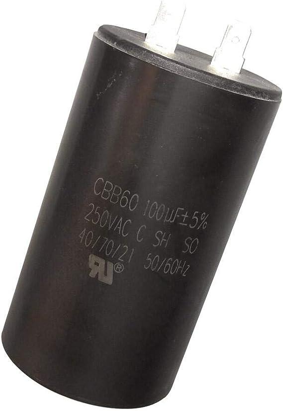 250VAC 90uF 90MFD CBB60 Motor Run Capacitor 90 uF//MFD 250 VAC 250V AC 50x91mm UL listed