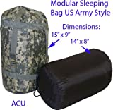 Mil-Spec Adventure Gear Plus MSA02-5739075000 3-Season Sleeping Bag, Army Digital