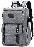 Vintage Laptop Backpack College School Bookbag Anti Theft Travel Backpack
