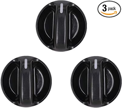 For Heater Control Knob Set of 3 Genuine 55905-0C010 For Toyota Tundra 2000-2006