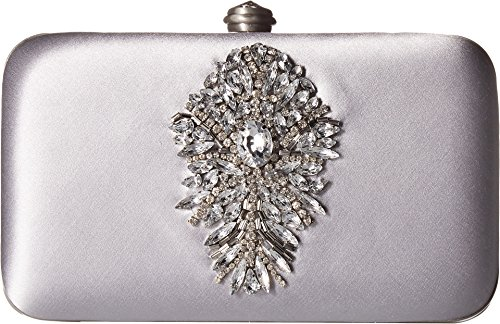 Badgley Mischka Women's Guild Clutch Silver One Size by Badgley Mischka