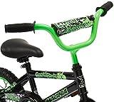 Dynacraft Magna Gravel Blaster Boys BMX Street/Dirt Bike 12', Black/Green