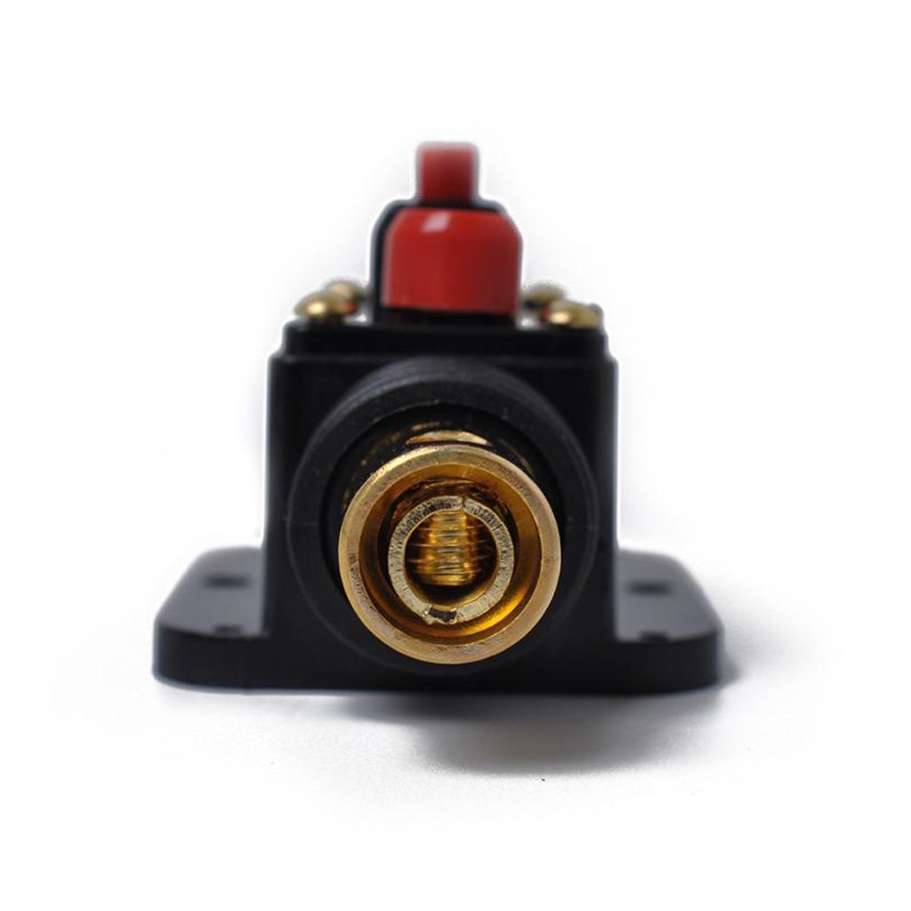 100A Homyl DC 12V-48V Car Stereo Audio Circuit Breaker Inline Fuse Fits for 4-8 Gauge Wire