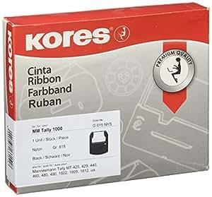 Kores G615NYS cinta para impresora - Cinta de impresoras matriciales (MT 1000, Negro)