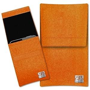 SIMON PIKE Cáscara Funda de móvil Sidney 1 naranja Nokia 603 Fieltro de lana