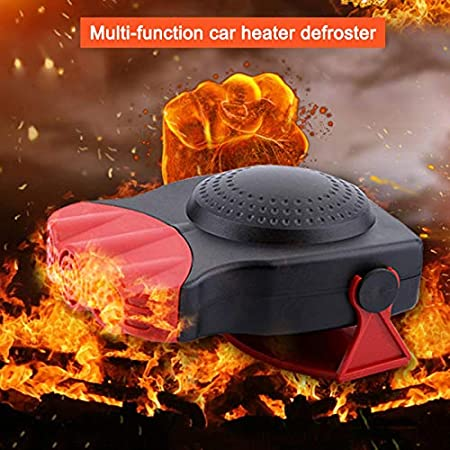 Portable Heating Warmer Defroster Windshield Windows Glass Heated Device JIEHED Mini Car Heater Electric Fan Fast Heating Quickly Defrosts Defogger