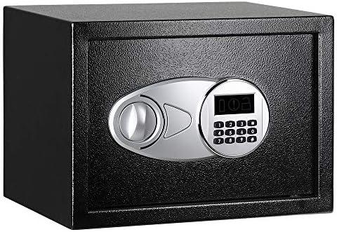 AmazonBasics - Caja fuerte (14L), color negro: Amazon.es: Bricolaje y herramientas