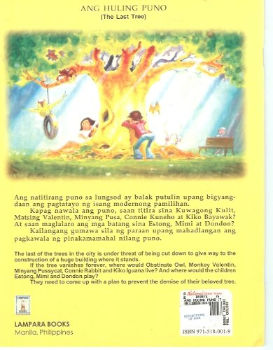 Ang Huling Puno The Last Tree Richard Reynante Arnould Nuestro 9789715180016 Amazon Books