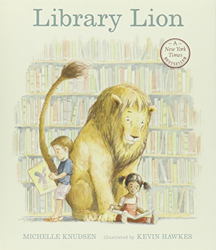Library Lion (1 Hardcover/1 CD) by Live Oak Media