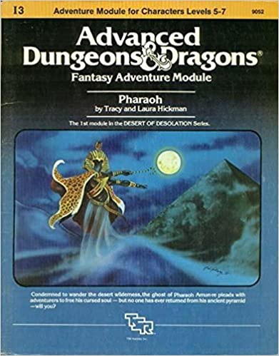 Pharaoh: Advanced Dungeons & Dragons Fantasy Adventure Module (Module I3 for Characters Levels 5-7) by Tracy, Hickman, Laura Hickman (1982-01-01)