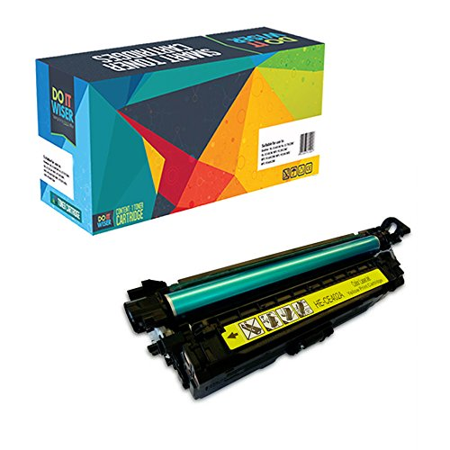 Do it Wiser Refurbished Toner Cartridge for HP Color LaserJet 5500 5500dn 5500dtn 5500hdn 5500n 5550 5550dn 5550dtn 5550hdn 5550n C3500 - C9732A - Yellow