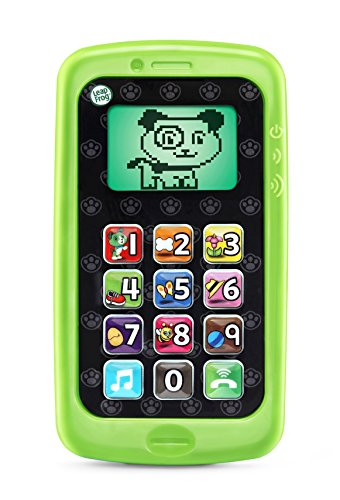 LeapFrog Chat and Count Smart Phone, Scout, Assorted Colors (Toy Cell Phone For 1 Year Old)