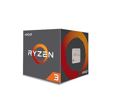 AMD YD130XBBAEBOX YD130XBBAEBOX Ryzen 3 1300X CPU with Wraith Stealth Cooler - Silver