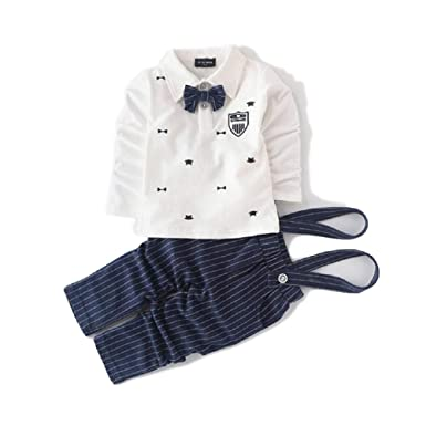 Traje para niños Boy Sweater Strap Gentleman Suit (Color ...