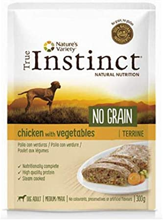 True Instinct True Canine Adult NO Grain Pollo Verduras 300GR ...