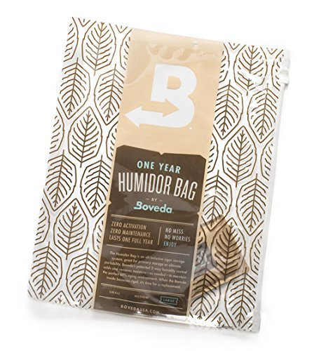Boveda Humidor Bag -Large Travel Humidor, 16 X 12 Inch Perfect Humidor Bag for Cigars (Humidor Bag Boveda)