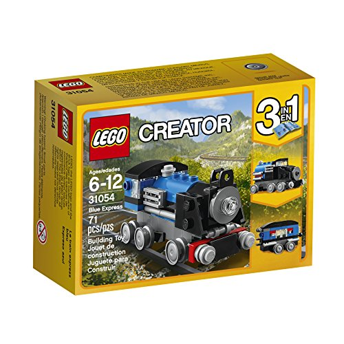 LEGO Creator Blue Express 31054 Building Kit (Thomas Lego Train)