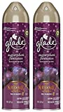 Glade Air Freshener Spray - Holiday Collection 2018 - Sugarplum Fantasies - Net Wt. 8 OZ (227 g) Per Can - Pack of 2 Cans