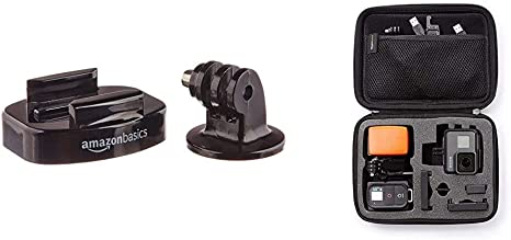AmazonBasics - Soportes para trípode para cámara GoPro + Estuche de Transporte para GoPro: Amazon.es: Electrónica