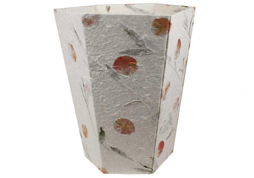 Life Arts Petal Regular Bougainvillea Handmade Waste Paper Basket (30cm x 25cm x 15cm)