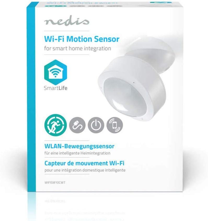 NEDIS WIFISM10CWT Sensore di Movimento Smart Wi-Fi