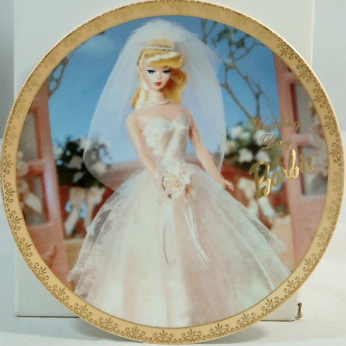 Barbie Limited Edition Wedding Day Collectible Plate